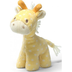 gund lolly giraffe rattle plush yellow
