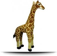 Save Large Standing Plush Giraffe
