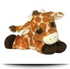 Plush 10 Inches Dreamy Eyes Giraffe Inches