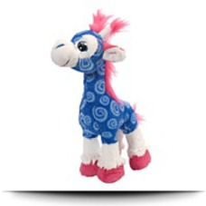 Save Sweet And Sassy Blue Giraffe
