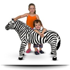 Save Zebra Plush