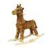 happy trails giraffe plush rocking animal