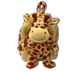 arounds two-in-one kid-sized backpack giraffe lovable