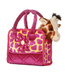 aurora plush fancy colorful giraffe carrier